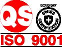 Kvadrat plus ISO 9001 certifikat